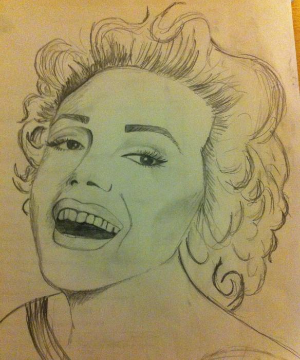 Marilyn Monroe par GeeWilkins